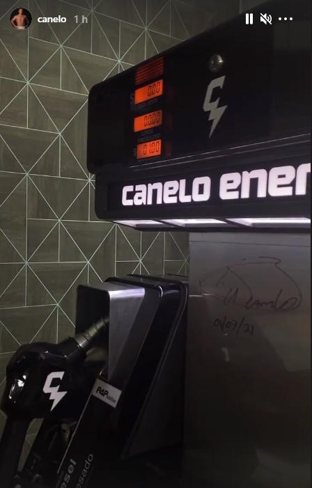 'Canelo' da el primer vistazo a su cadena de gasolineras en México