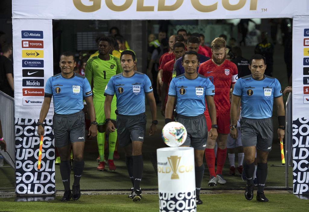 Presentan a los árbitros para la Copa Oro de la Concacaf 2021