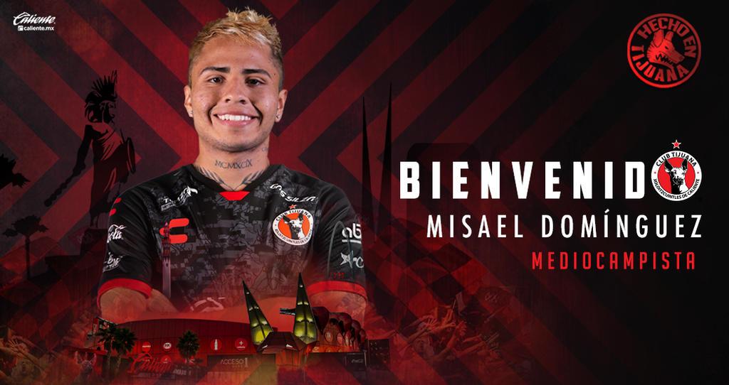 OFICIAL: Xolos contratan al coahuilense Misael Domínguez