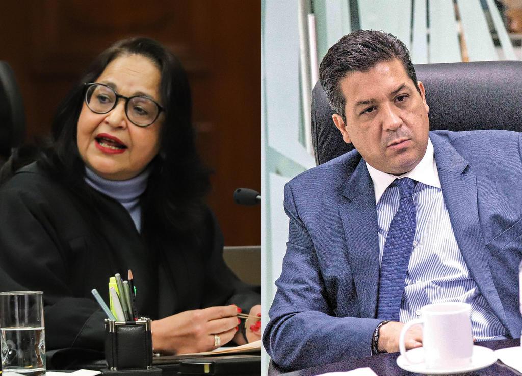 Ministra de SCJN propondrá admitir demanda de Congreso de Tamaulipas contra desafuero de Cabeza de Vaca