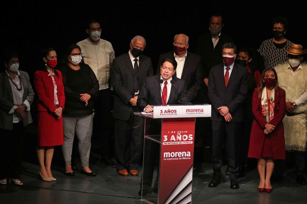 Morena celebra tercer año del triunfo electoral de López Obrador