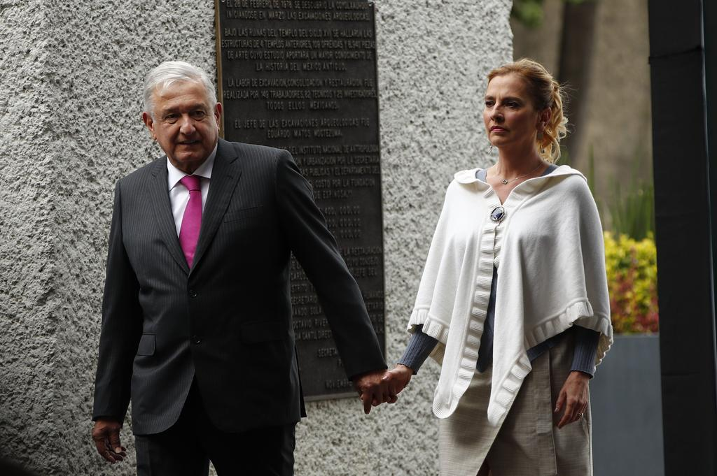 Gutiérrez Müller respalda al presidente López Obrador