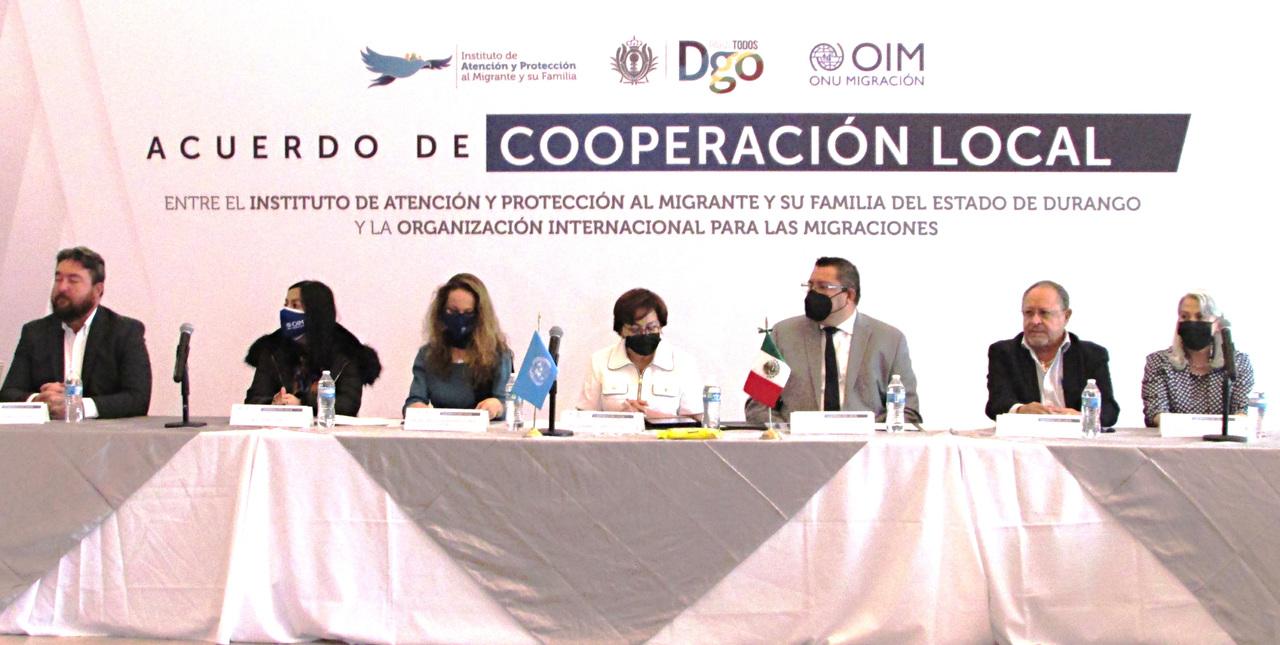 Colaborarán Gobierno del Estado y Organización Internacional para las Migraciones