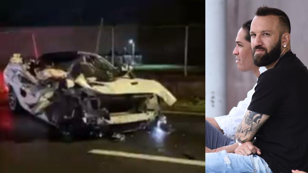 Matías Vuoso responde a señalamientos por percance vehicular