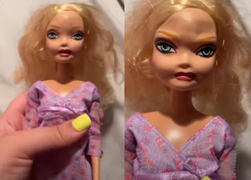 Madre comparte la 'nueva' muñeca de su hija y 'aterroriza' en redes sociales