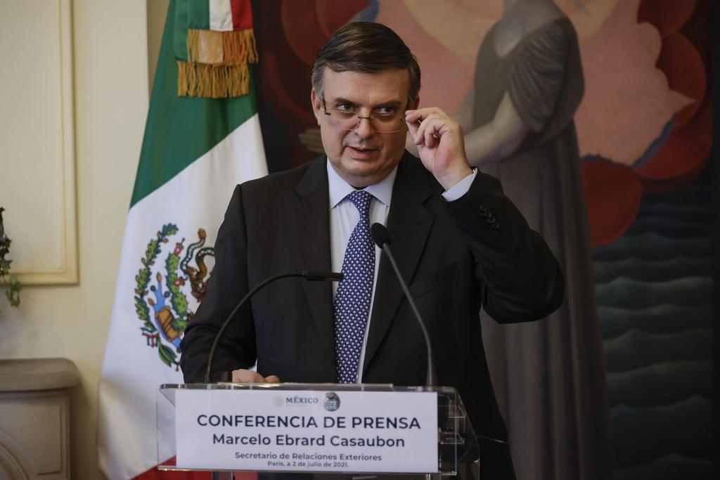 'México está trabajando con Estados Unidos para redefinir las actividades esenciales en la frontera común'