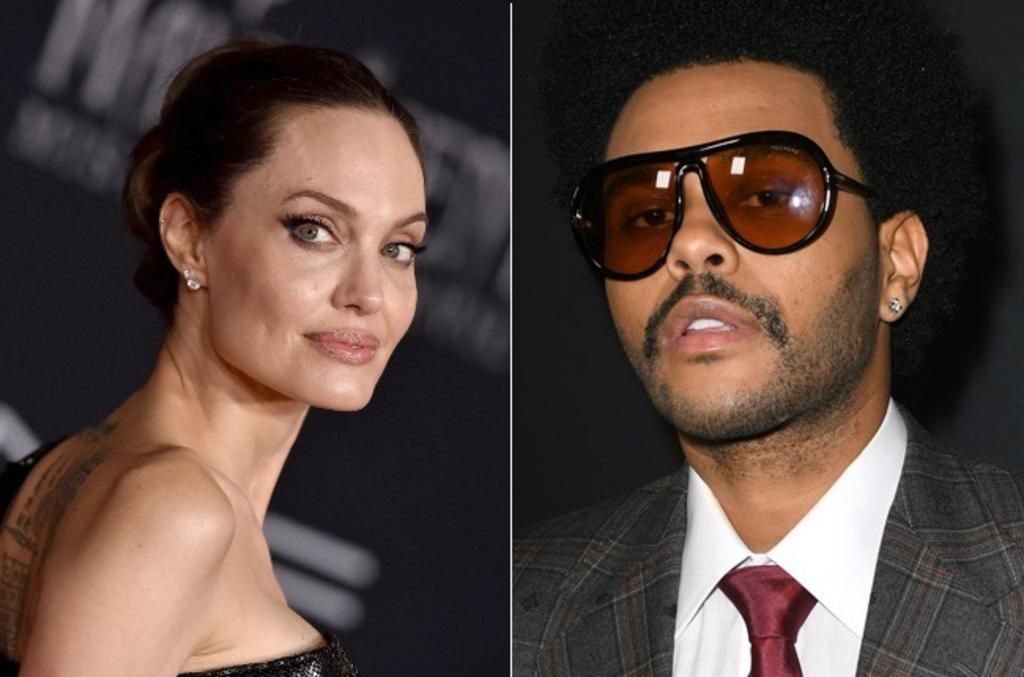 ¿Angelina Jolie y The Weeknd están de romance?; los captan juntos en restaurante