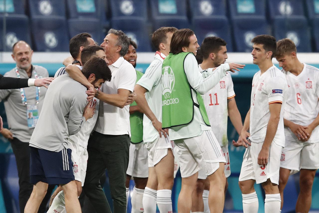 España, a semifinales de la Euro 2020 tras eliminar a Suiza