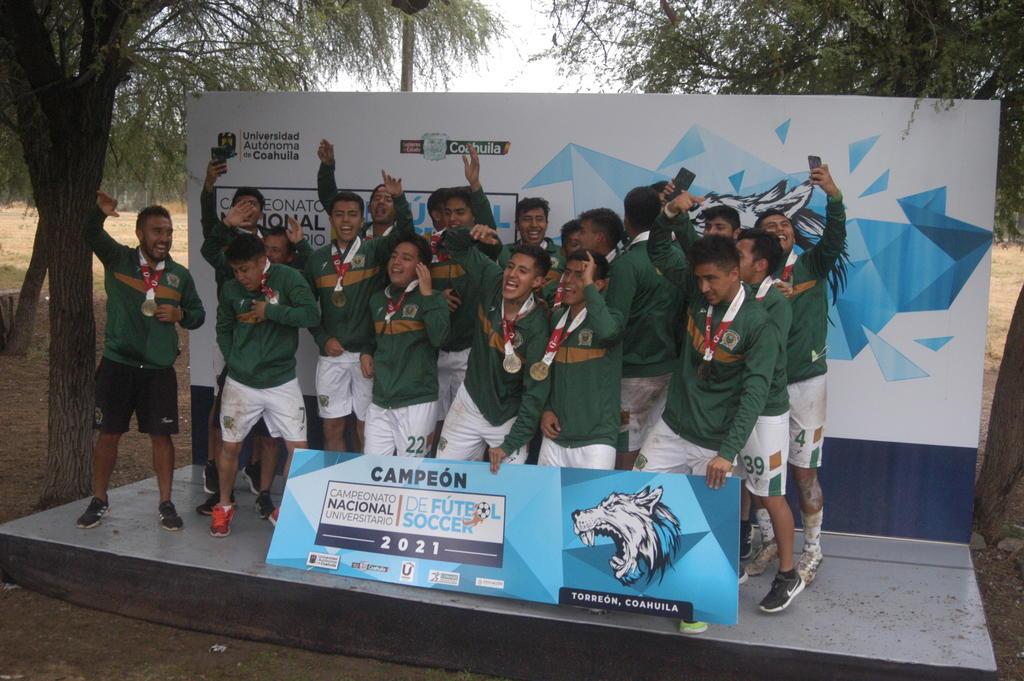 UAEM se corona en el Campeonato Nacional Universitario de Futbol Soccer