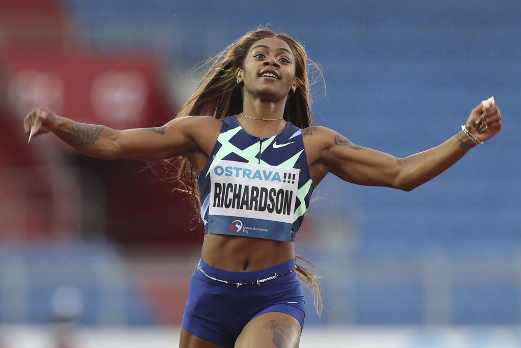 Sha'Carri Richardson se podría perder los Juegos Olímpicos tras dar positivo a cannabis en el antidopaje