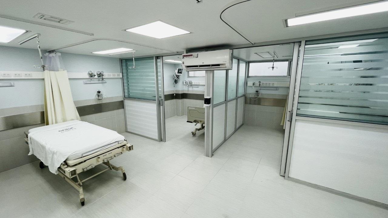 Remodelan área de urgencias del Hospital Santiago Ramón y Cajal