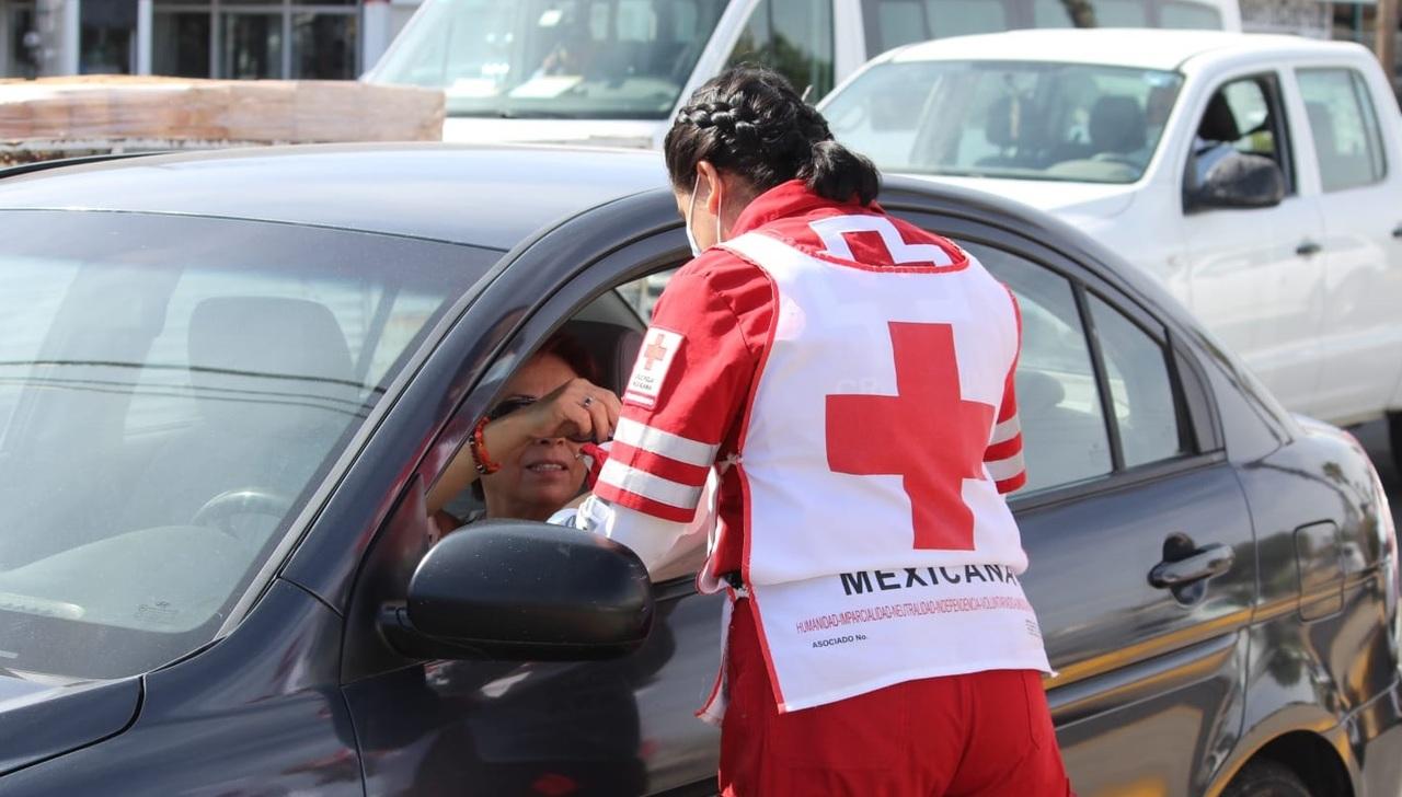 Amplían colecta de la Cruz Roja