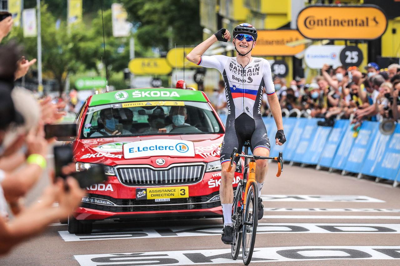 Mohoric gana la etapa maratón