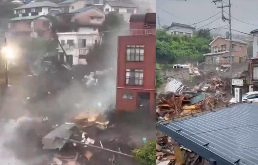 Deslave en Japón deja dos muertos y por lo menos 20 desaparecidos