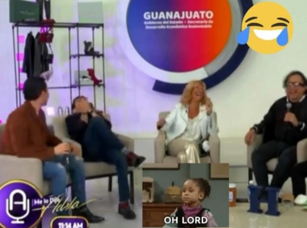 Pepillo Origel da 'tremendo' chisme de Lucía Méndez sin saber que estaba en vivo