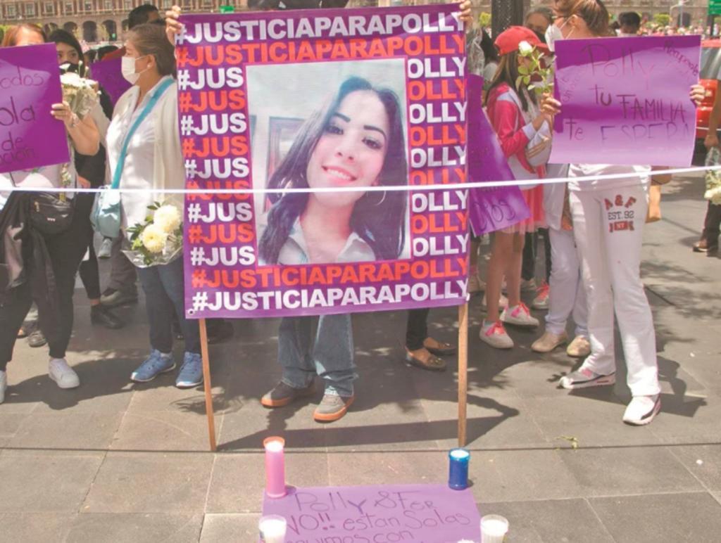 Tras la muerte de 'Polly', Fiscalía reclasifica el delito a feminicidio