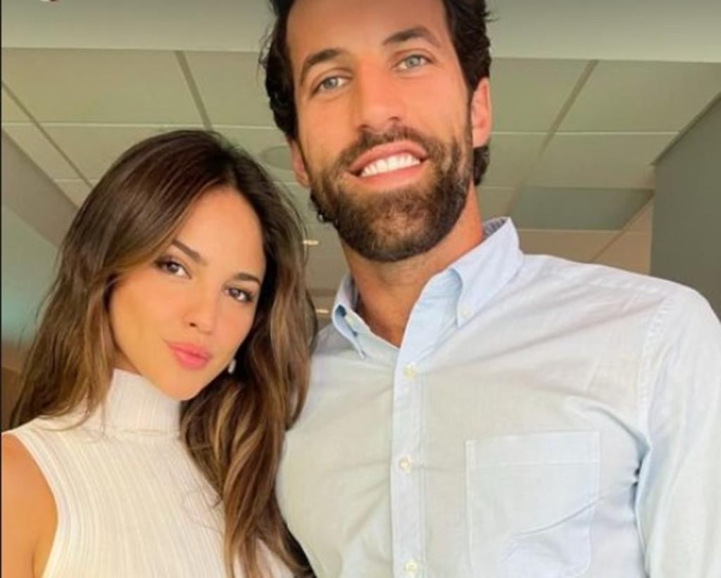 'Te amo'; Eiza González presume a su novio Paul Rabil