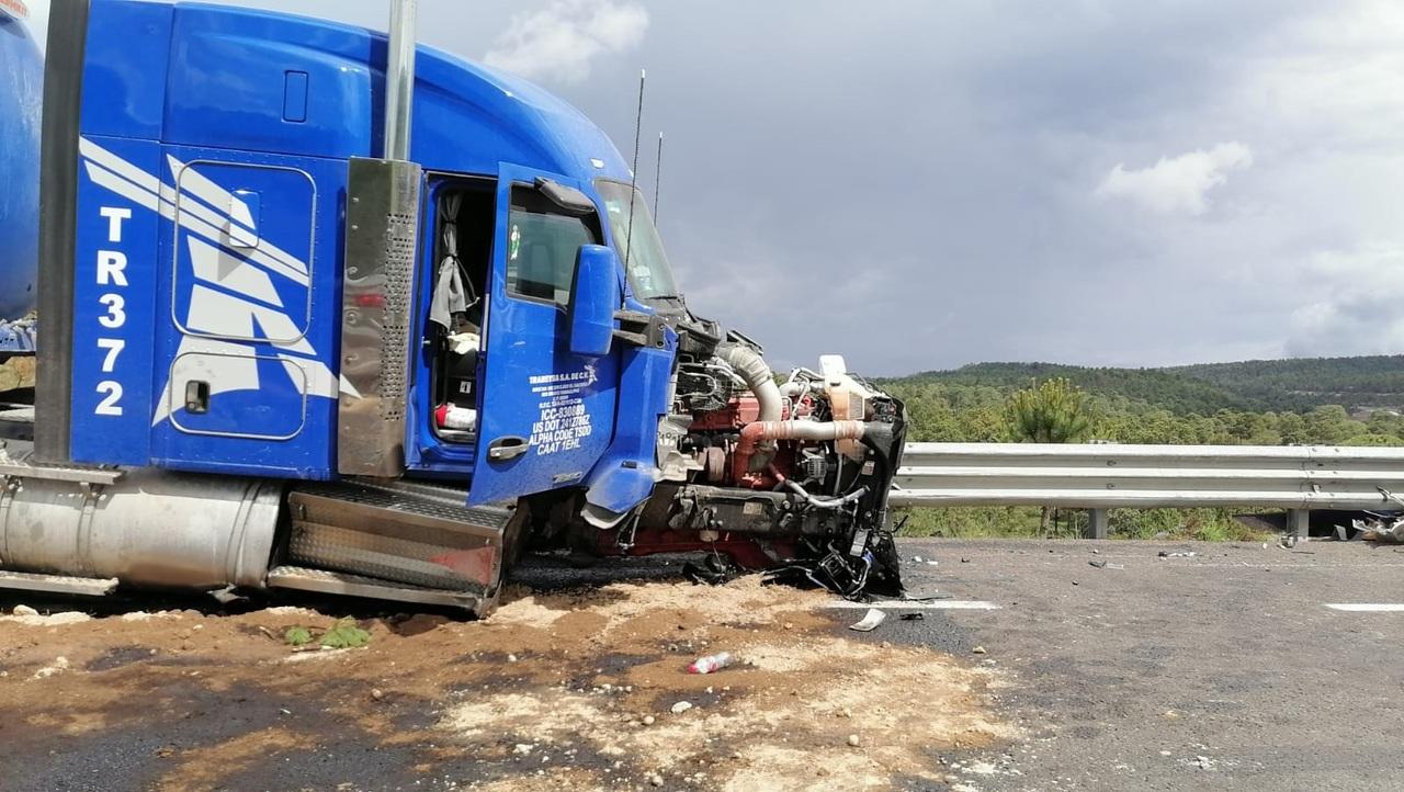 Aparatoso accidente en la 'Súper' deja 16 heridos