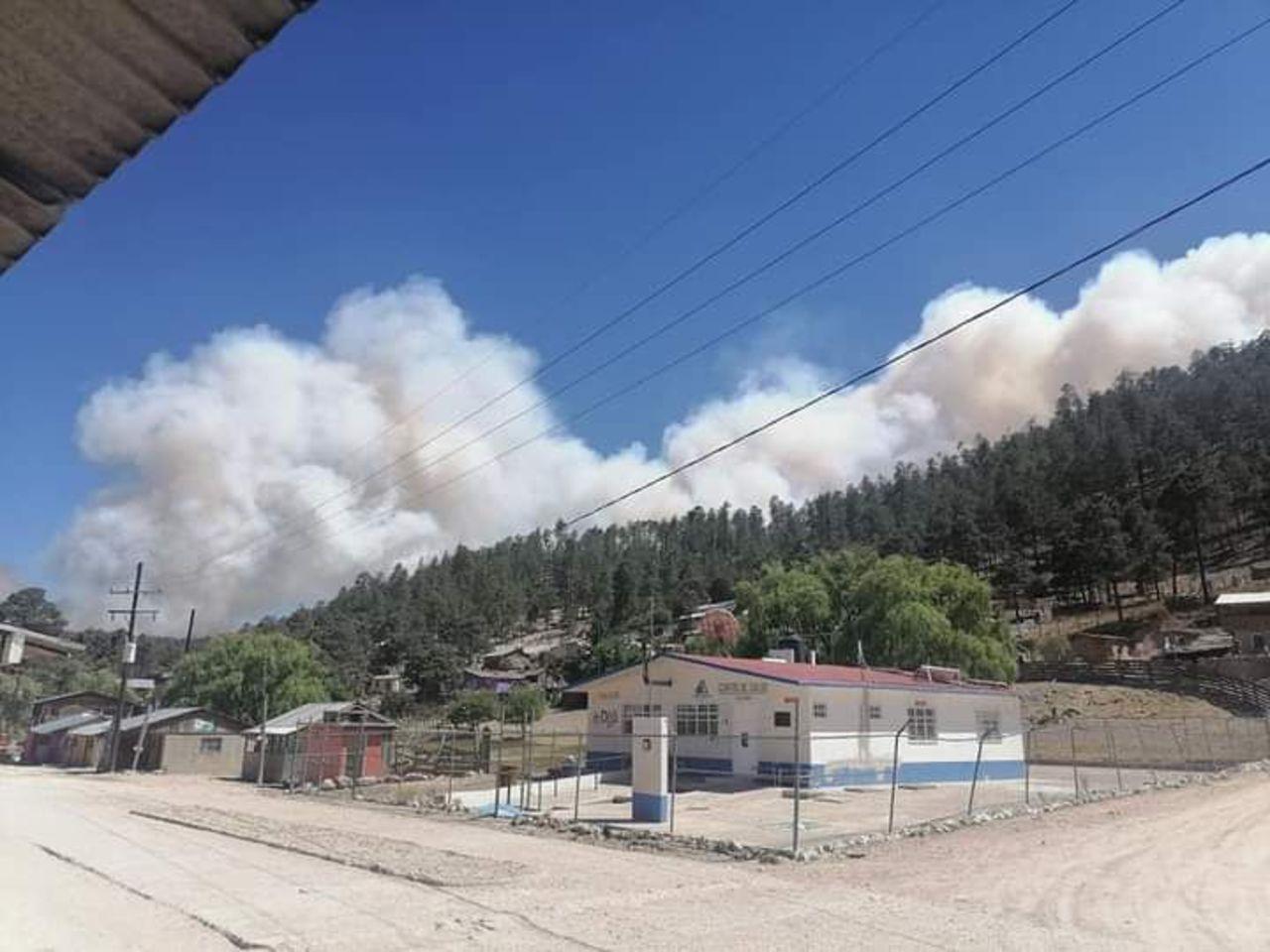 El fuego hizo de las suyas en Durango