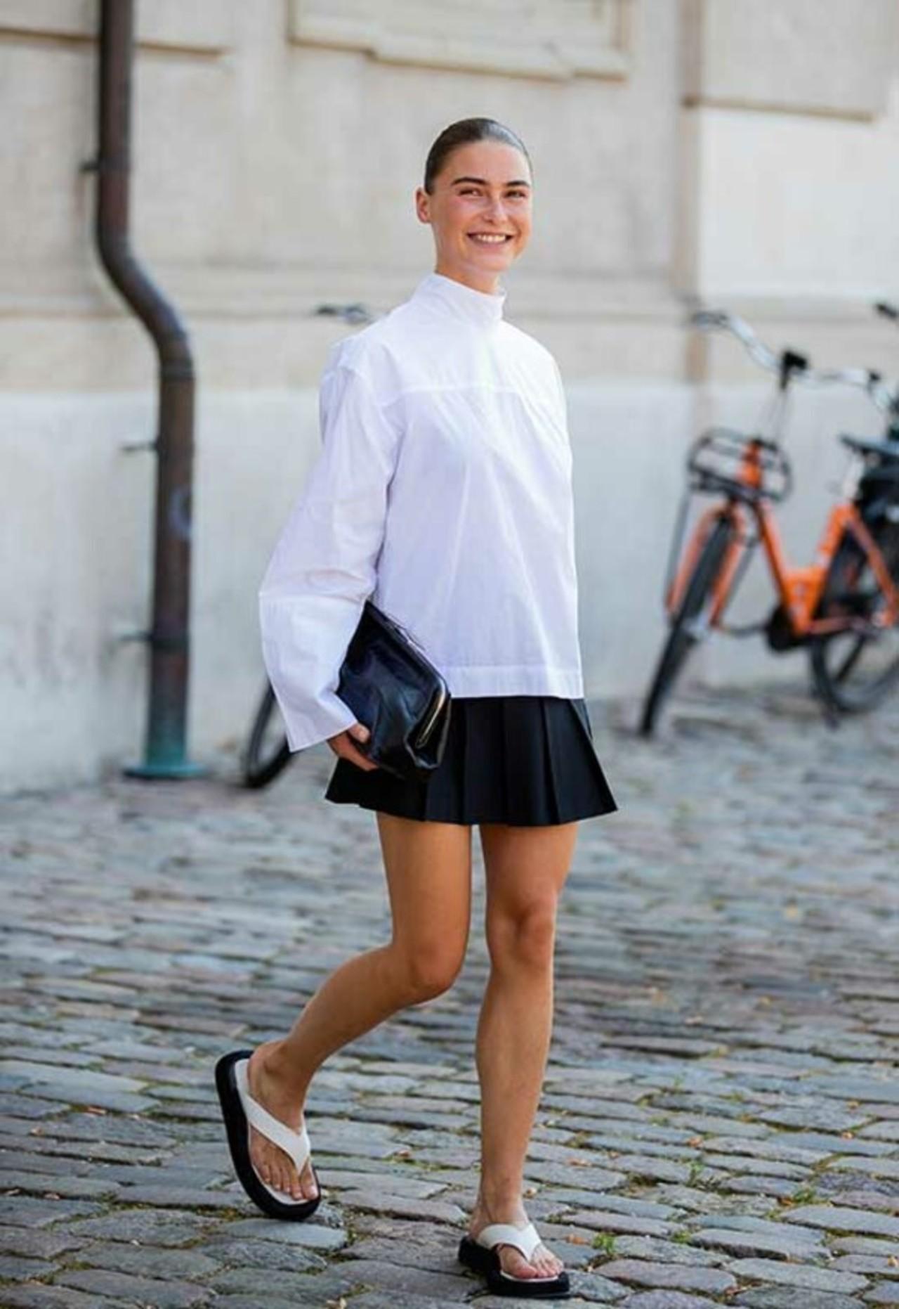 Tendencia: falda tableada