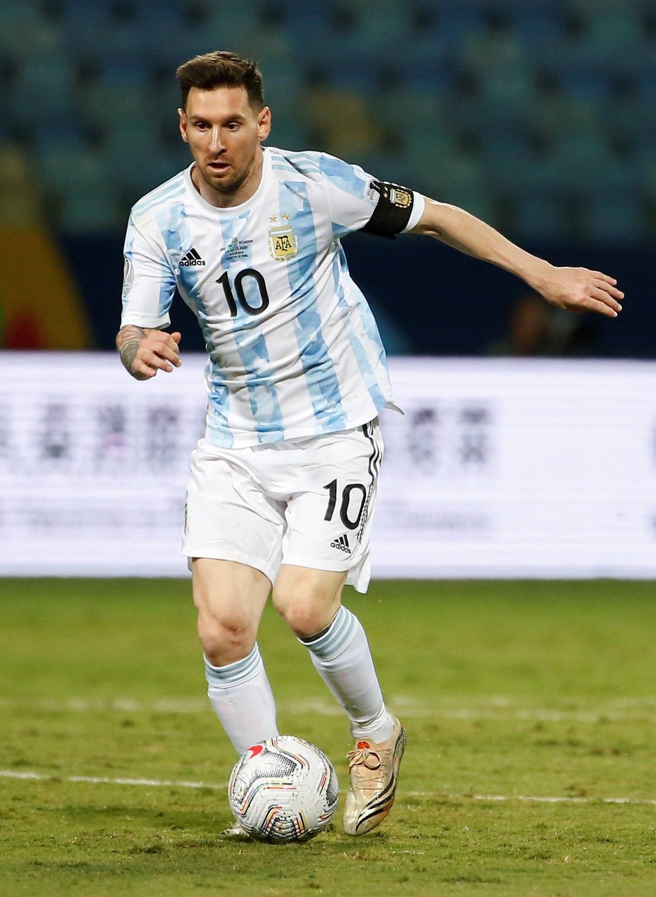 Argentina se luce ante Ecuador