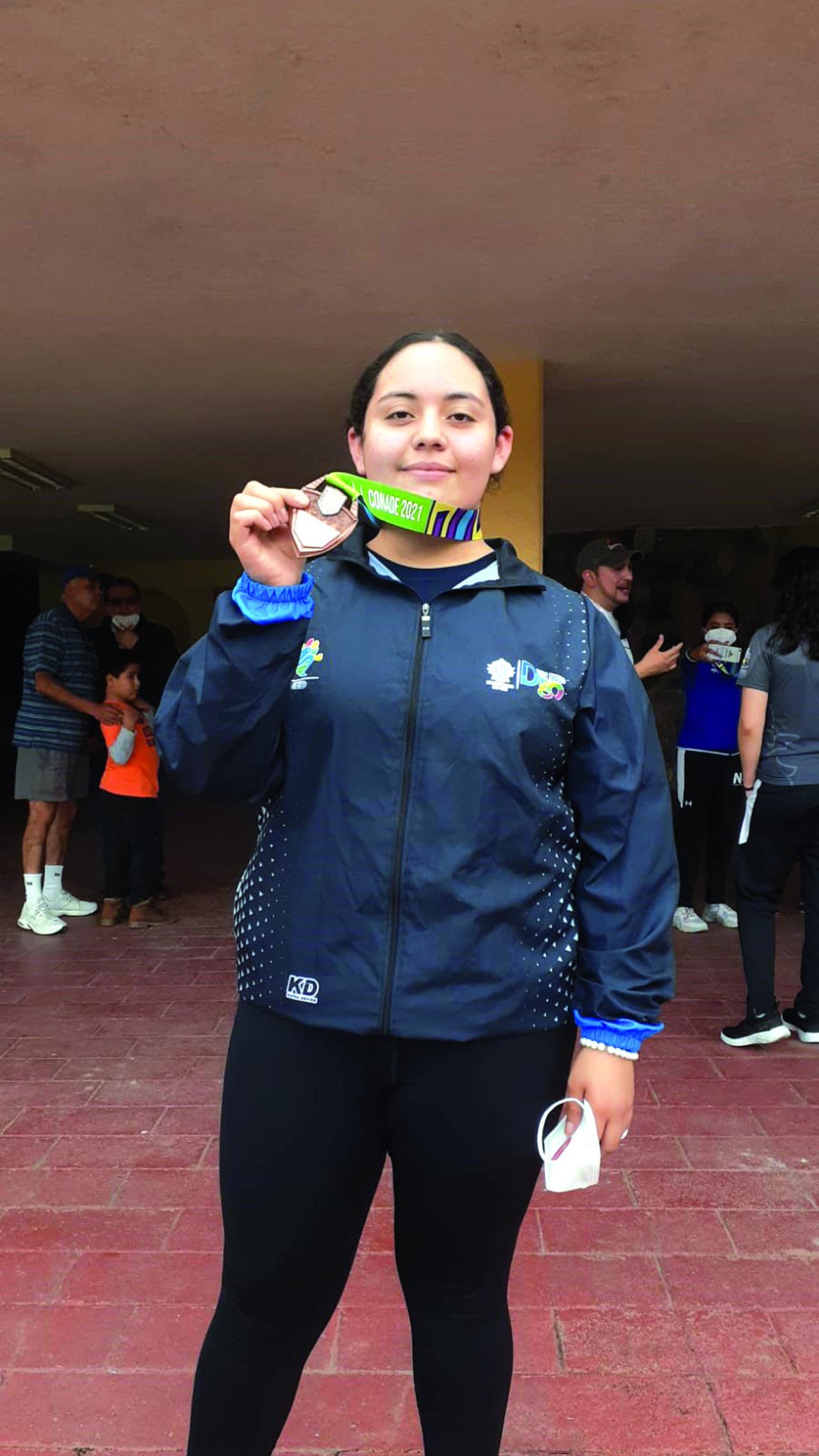 Mari José consigue bronce en tiro deportivo de los JN