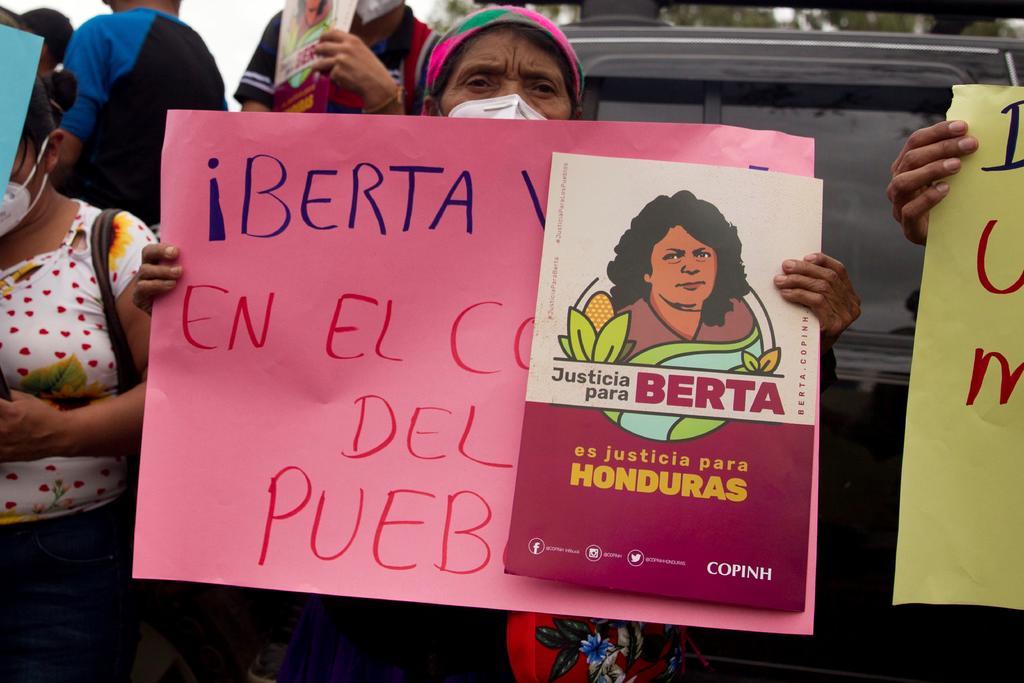 Fallo contra presunto asesino de la ambientalista Berta Cáceres se sabrá este lunes en Honduras