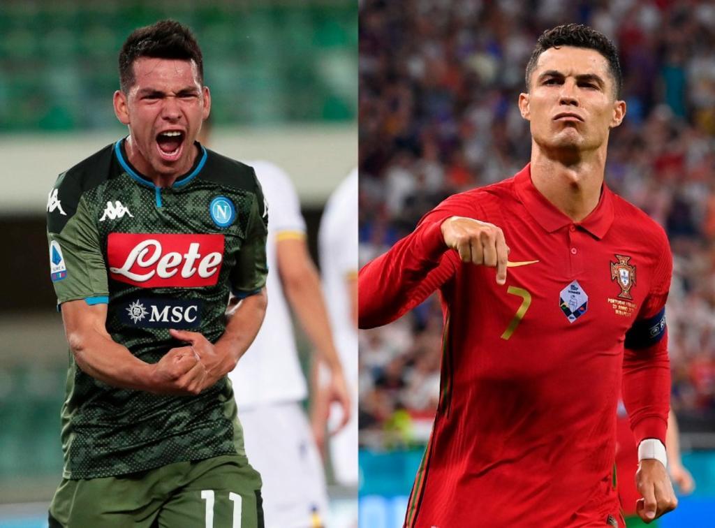 Chucky Lozano y Cristiano Ronaldo ya valen lo mismo en el futbol