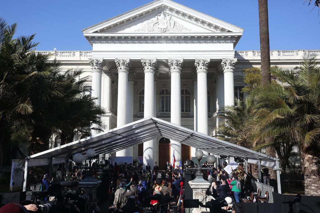 Por protestas, suspenden la inauguración de la convención constituyente en Chile