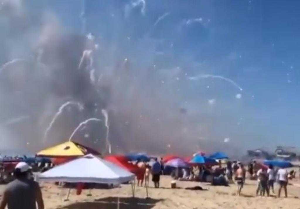 Camión de fuegos artificiales explota en Maryland en pleno 4 de julio
