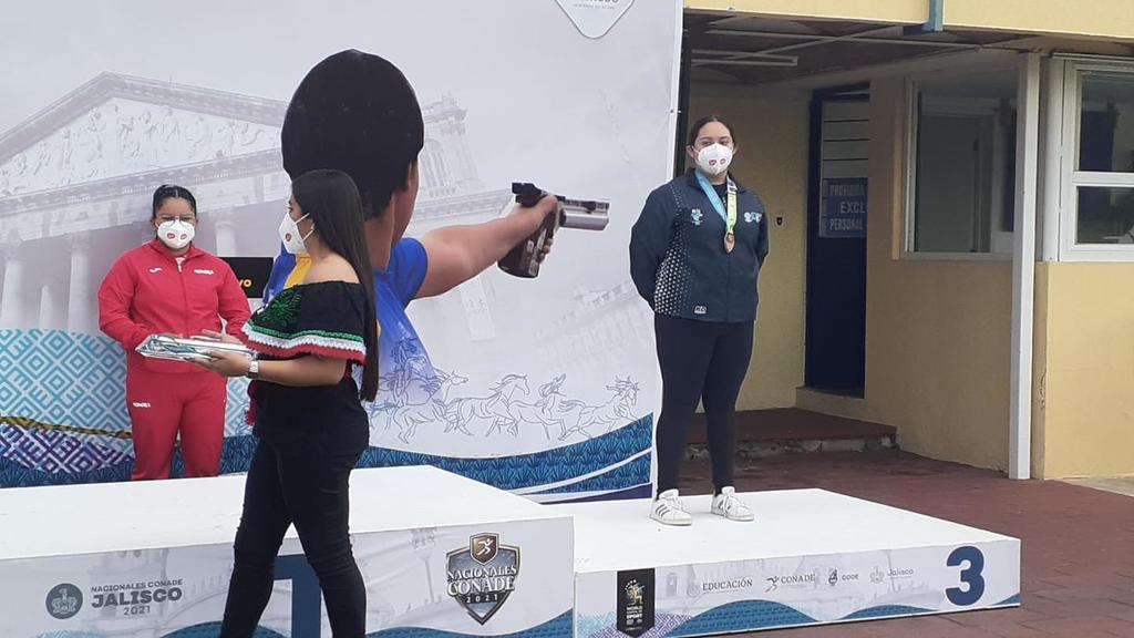 Medalla para Durango en tiro deportivo dentro de Juegos Nacionales Conade 2021