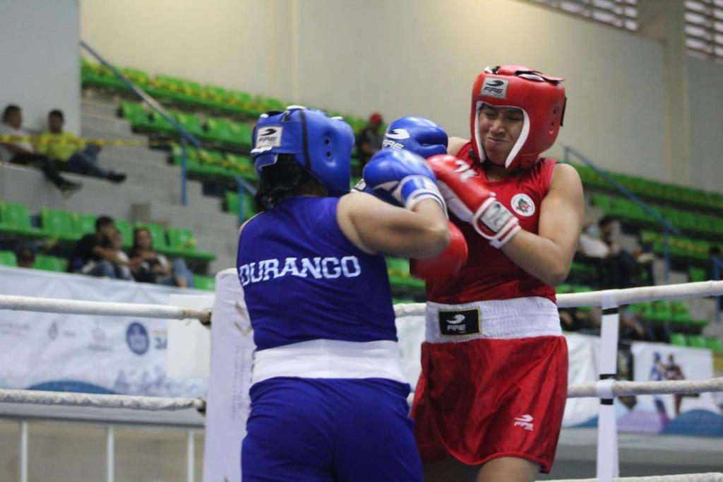 Dura derrota en el boxeo femenil para Durango en los Juegos Nacionales Conade 2021