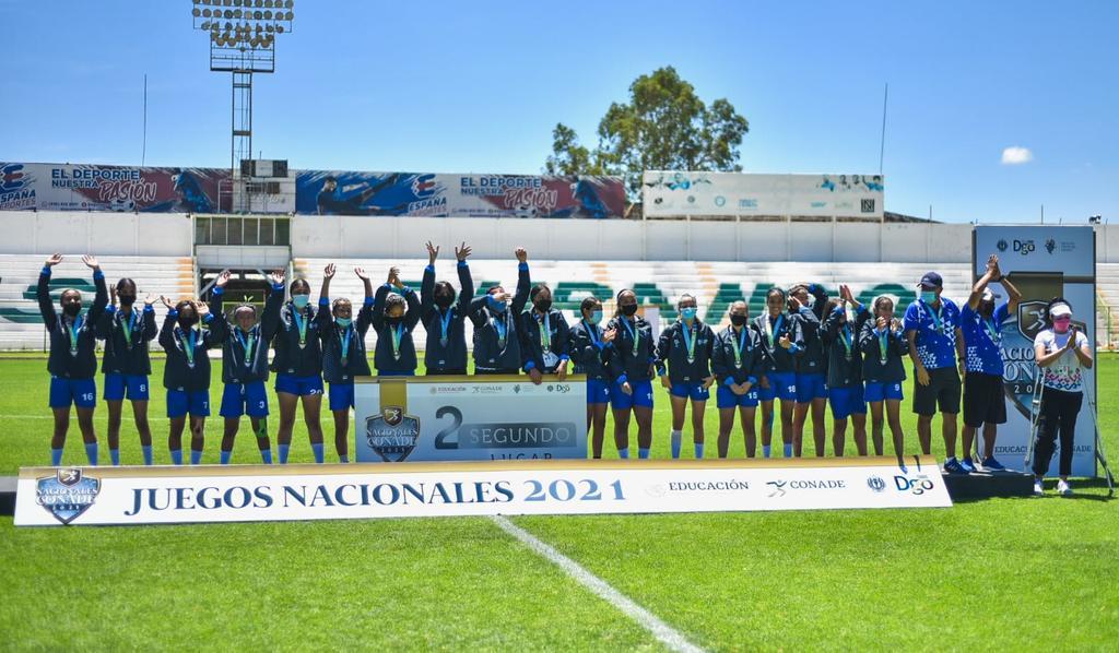 Hidalgo derrota a Durango en futbol femenil de los Juegos Nacionales Conade 2021