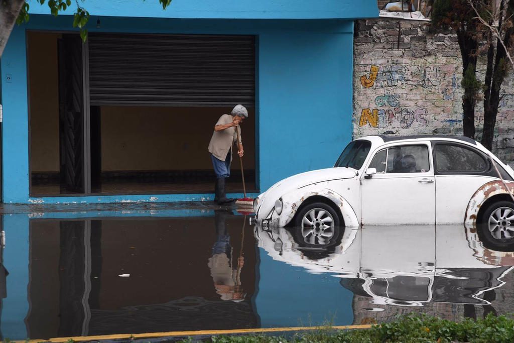 Las lluvias superan el promedio histórico en México