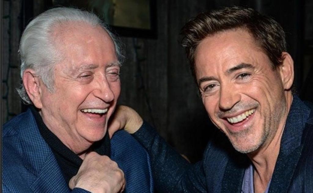 Muere papá de Robert Downey Jr. a los 85 años
