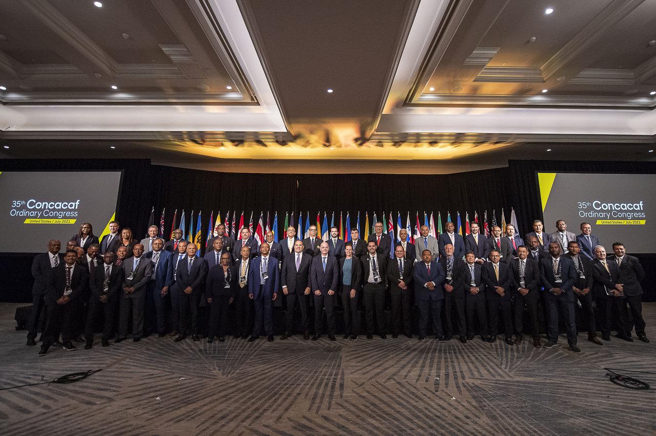 Concacaf llevó a cabo su 35 Congreso Ordinario