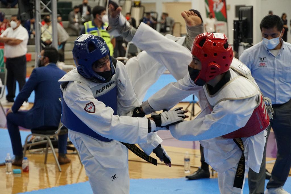 Nuevo León manda en cadetes en TKD de los Juegos Nacionales CONADE 2021