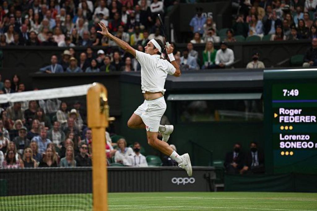 Se le escapa el noveno Wimbledon a Federer; es eliminado en cuartos