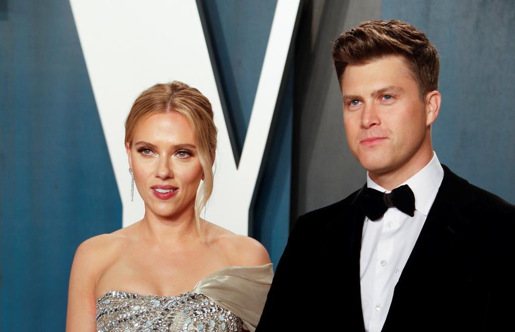 Scarlett Johansson espera a su segundo hijo; el primero junto a Colin Jost