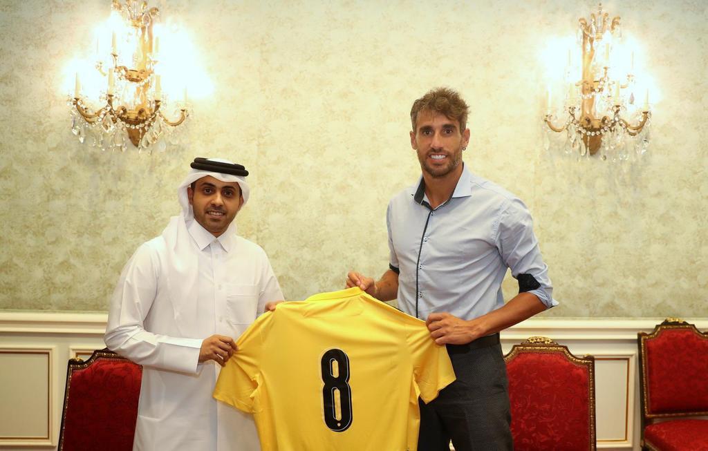 Javi Matínez es el nuevo jugador del Qatar SC