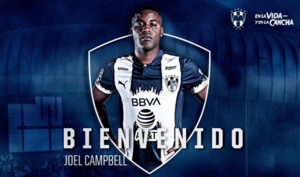 Joel Campbell es el nuevo fichaje de Rayados