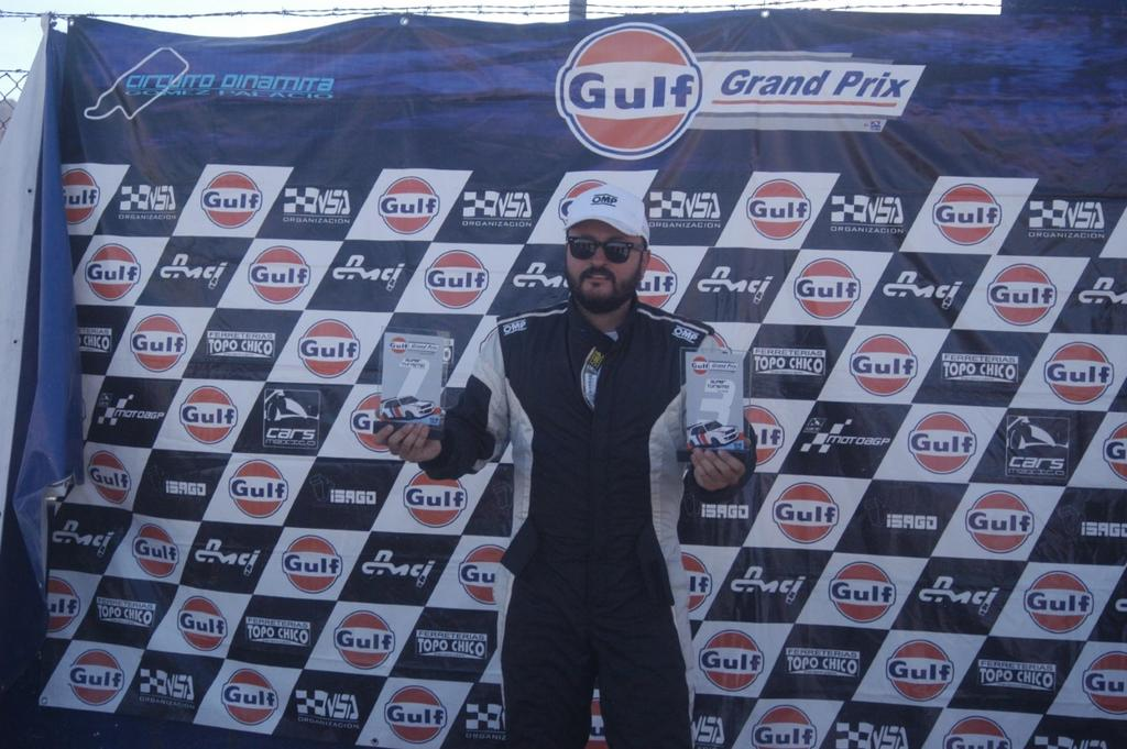 Lagunero Ricardo Piñera conquista el primer lugar del Anual Gulf Grand  Prix
