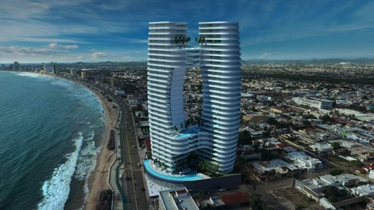 ¿Ya conoces el edificio más alto y futurista de Mazatlán?