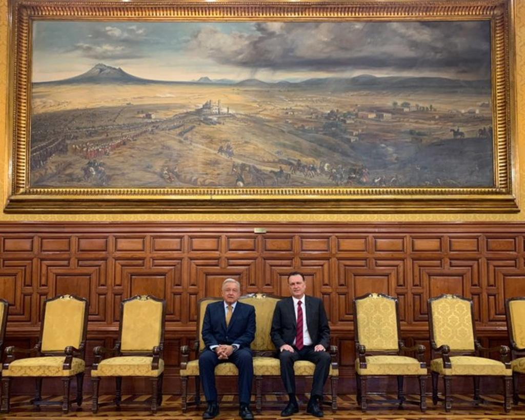 Gobernador electo de Querétaro se reúne con AMLO; preocupa seguridad y reactivación económica