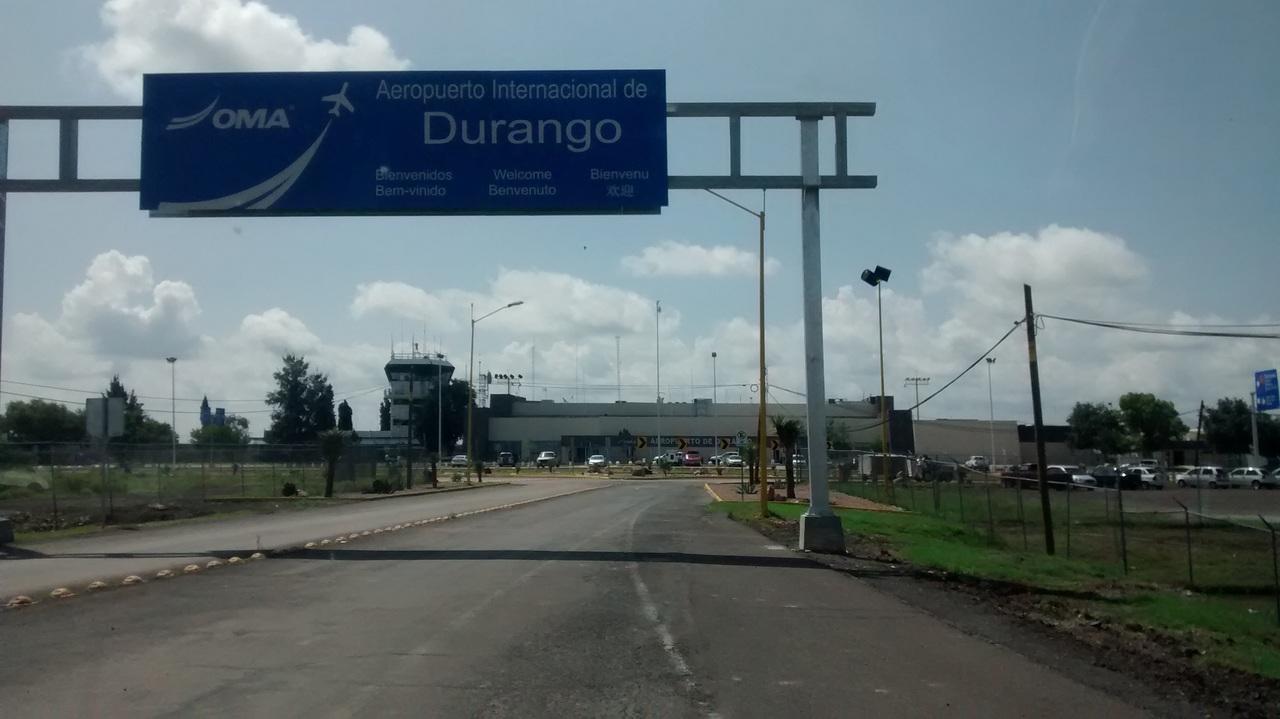 Mejora pasaje aéreo en Durango en primer semestre