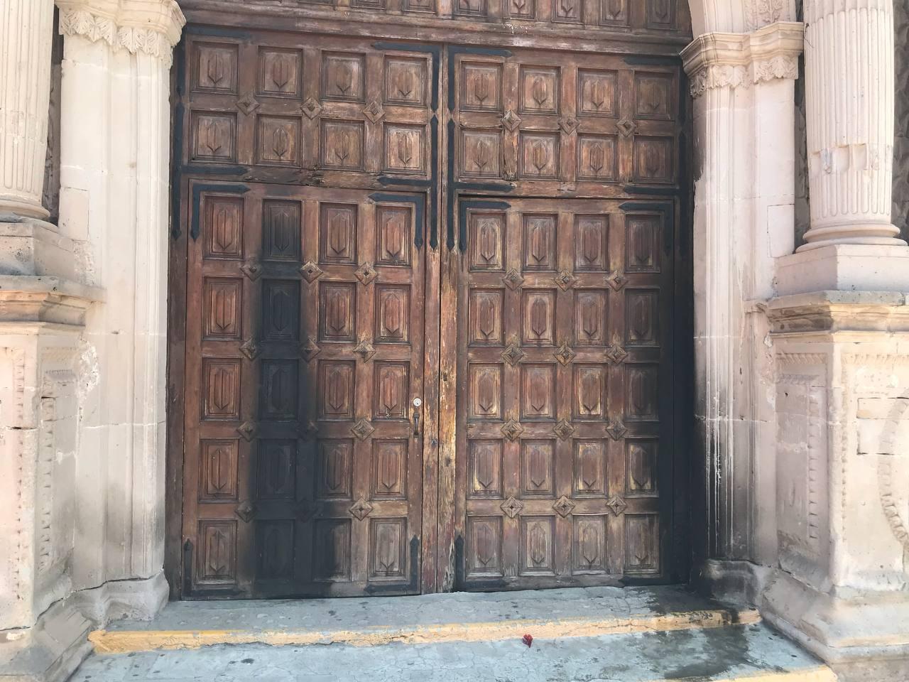 El seguro podría pagar reparación de daños en iglesia