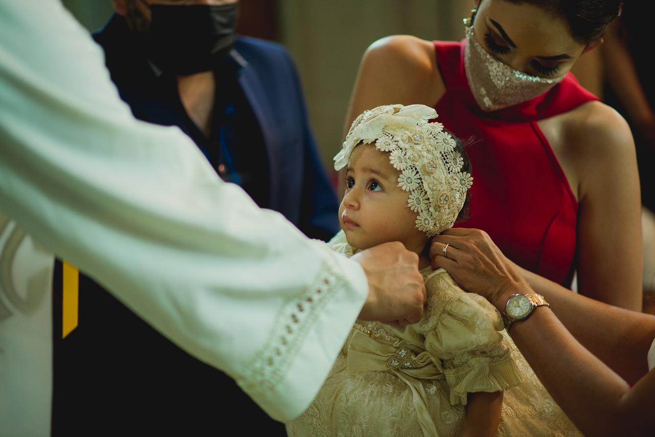 Ana Sofía, nueva católica