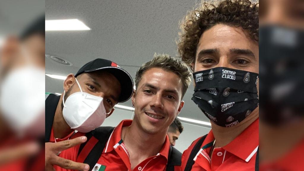 Selección Nacional Olímpica de Futbol arriba a Japón