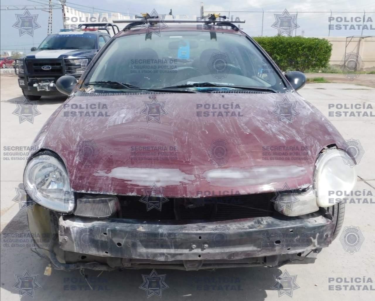 Se roban carro en Lerdo y lo recuperan en GP