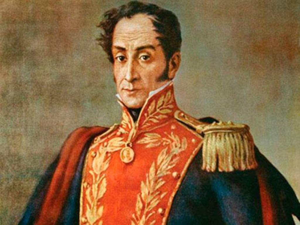 1783: Nace Simón Bolívar, fundador de las repúblicas de la Gran Colombia y Bolivia